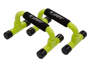 Lifefit Push-Up Bars Green