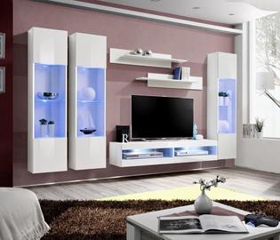 ASM Fly P8 Living Room Wall Unit Set White