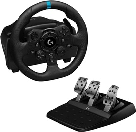 Logitech G923 Racing Wheel and Pedals PS4/PC