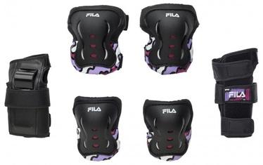 Fila Jr.Girl FP Gears Protection Set Black/Pink XXS