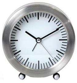 Platinet Sunrise Alarm Clock Silver