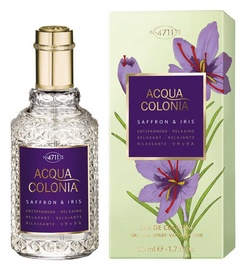 4711 Acqua Colonia Saffron & Iris 50ml EDC Unisex