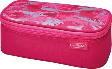 Herlitz Pencil Pouch Beatbox Camouflage Pink 50015252