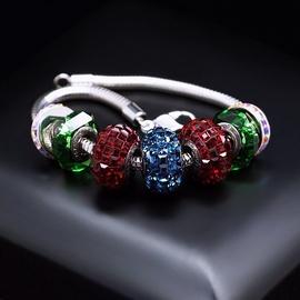 Diamond Sky Bracelet Becharmed Pavé Mini IX With Swarovski Beads