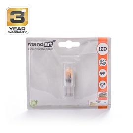Led lamp Standart T4, 1,9W, G9, 2700K, 204lm