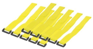 LogiLink Cable Tie Straps Yellow