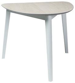 Обеденный стол Signal Meble Karl White, 800x900x750 мм