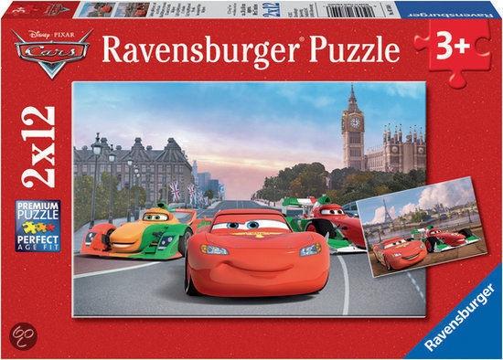 Ravensburger Puzzle Lightning McQueen & Friends 2x12pcs 075546