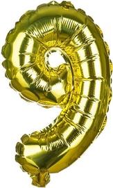 Banquet Foil Balloon 9 Gold 30cm