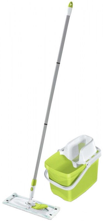 Leifheit Floor Cleaning Kit Combi M Green Color Edition New