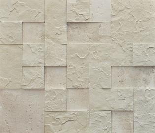 Dekoratiivkivi Aramida, kreemikasvalge 8 tk