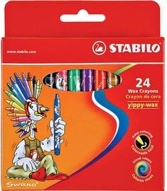 Stabilo Yippy Wax Crayons 24pcs