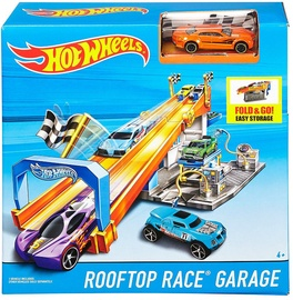 Mattel Hot Wheels Rooftop Race Garage Playset DRB29
