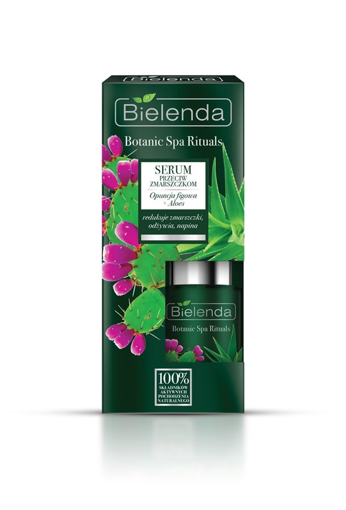 Bielenda Botanic Spa Rituals Indian Fig Opuntia + Aloe Anti Wrinkle Face Serum 15ml