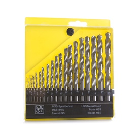 Metallpuuride komplekt Vagner SDH, 1-10 mm, 19 tk