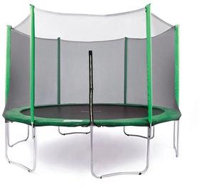 Tesoro Garden Trampoline 252cm Net/Ladder Green