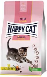 Happy Cat Kitten Dry Food Farm Poultry 4kg