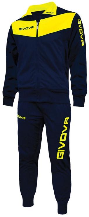 Givova Visa Navy Yellow 3XS