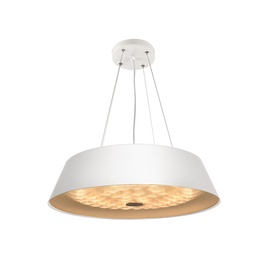 Domoletti Kvadro A1934-1-400-R Ceiling Lamp 24W LED White