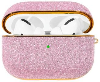 Kingxbar Bling Shiny Glitter Case For Apple AirPods Pro Pink