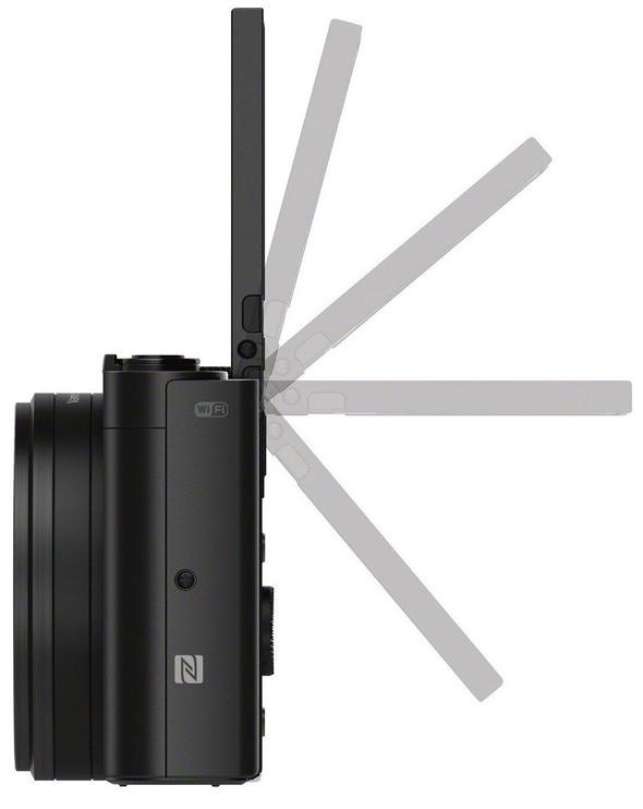 Sony WX500 Compact Camera Black