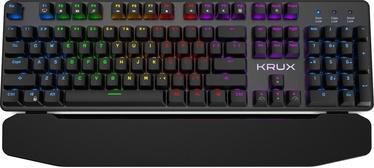 Mänguri klaviatuur Krux Meteor RGB Outemu Brown EN