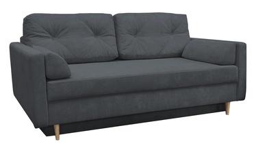 Диван-кровать Idzczak Meble Astoria Queens 23 Dark Grey, 216 x 100 x 74 см