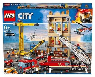 LEGO City Fire Downtown Fire Brigade 60216