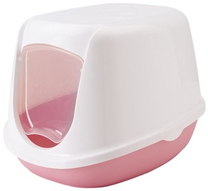 Savic Duchesse Cat Toilet 44.5x35.5x32cm White/Pink