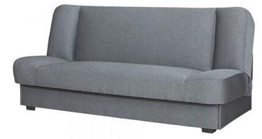 Диван-кровать Bodzio Bajka S1 Gray, 196 x 90 x 92 см