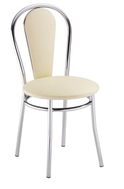 Стул для столовой Halmar Tulipan Plus Creamy