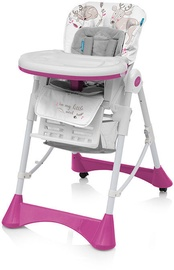 Baby Design Pepe New High Chair Pink Deer 08