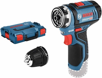 Bosch GSR 12V-15 FC Cordless Drill w/GFA-12B Drill Chuck Adapter/L-Boxx