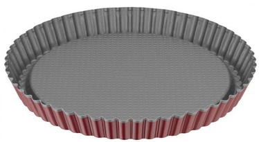 Kaiser Classic Plus Pie Form D28cm Red Silver