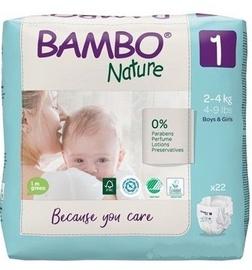 Mähkmed Bambo Nature Classic 1, 22 tk