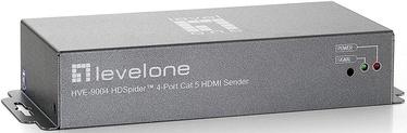 LevelOne over Cat.5 HVE-9004 HDSpider 4-Port
