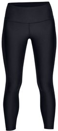 Under Armour HeatGear Ankle Crop Branded Leggings 1329151-001 Black XS