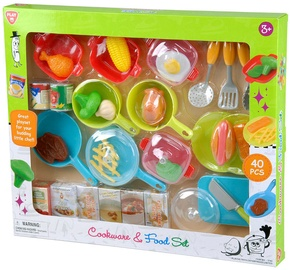 PlayGo Cookware & Food Set 3740