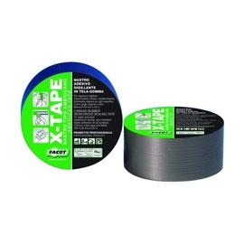 Kleepuv tihendilint Facot X-Tape 50 mm x 25 m must
