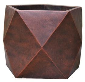 Home4you Flowerpot Cubo-2 D38xH30cm Bronze