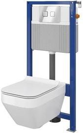 Cersanit Aqua B26 WC System with Soft Close Lid White