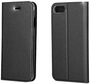 Blun Premium Matt Smart Book Case For LG K8 Phoenix 2 Black