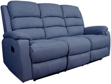Диван Home4you Manuel 13877, синий, 95 x 185 x 103 см