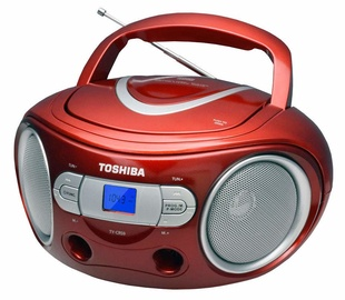 Toshiba TY-CRS9 CD Boombox Red