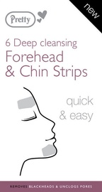 Pretty Deep Cleansing Forehead & Chin Strips Pack Of 6pcs