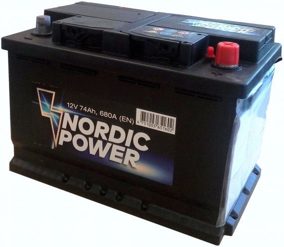 Nordic Battery NP1619