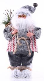 DecoKing Christmas Decoration Santa Claus Red/Grey 43cm
