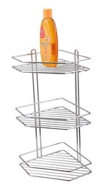 Anho Corner Shelf Chrome BIC-0458