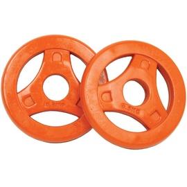 Tunturi Rubber Plates 2 x 0.5 kg 2pcs
