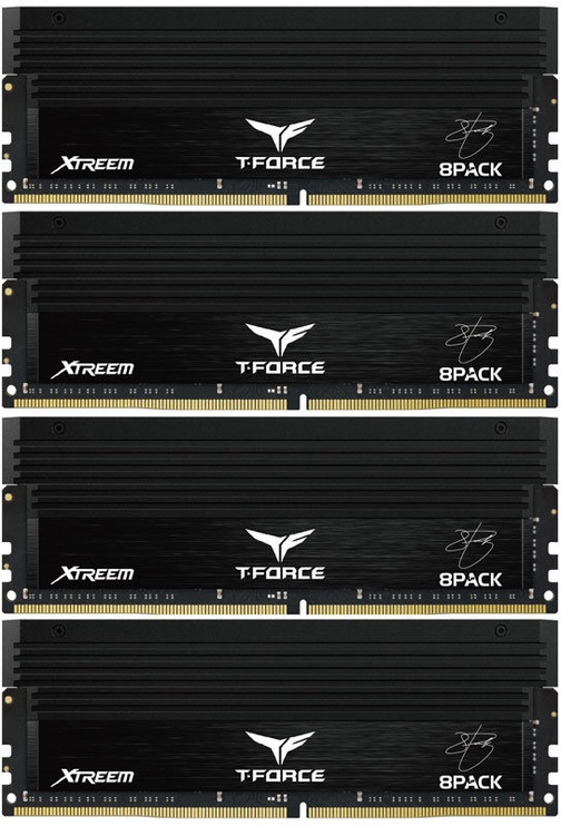 "Team Group T-Force Xtreem ""8Pack Edition"" 32GB 3200MHz CL14 DDR4 KIT OF 4 TXBD432G3200HC14BQC01"